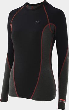 Produkt Mizuno Jacquard Virtual Body L/S Crewneck Shirt 73CL04197
