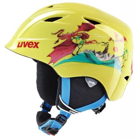 UVEX AIRWING 2 yellow dragon S5661326101