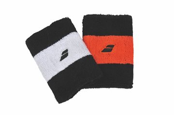 Produkt Babolat Reversible Jumbo Wristband X2 Black/Orange