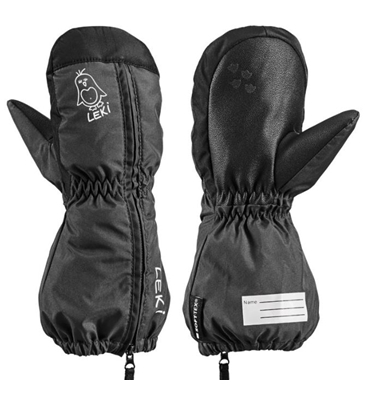 Leki Little Sleeve Mitt charcoal-black 643889402 19/20