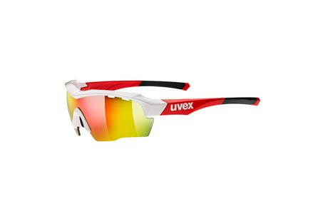 UVEX SGL 104 WHITE RED/RED
