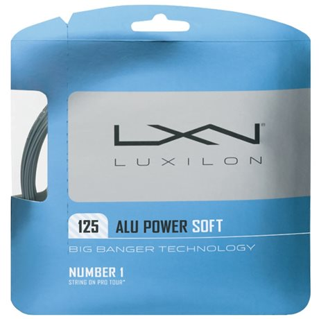 Luxilon Alu Power Soft 125 Set Silver