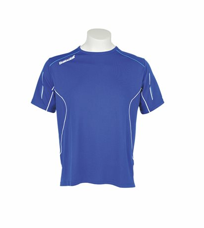 Babolat Tee-Shirt Men Match Core Blue 2015