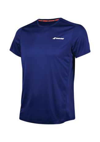 Babolat Flag Tee Boy Core Club Estate Blue