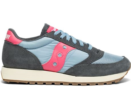 Saucony Jazz Original Vintage Charcoal/Blue Fog/Orange