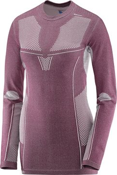 Produkt Salomon Primo Warm LS CN Tee Fig 397172
