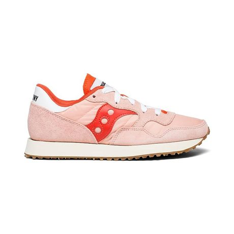 Saucony DXN Vintage Trainer Pink/Berry
