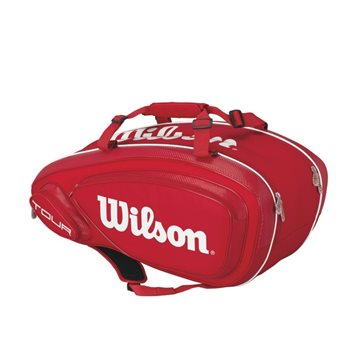 Produkt Wilson Tour V 9 Pack Red