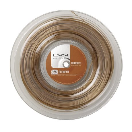 Luxilon Element 200m 1,25 Reel Gold
