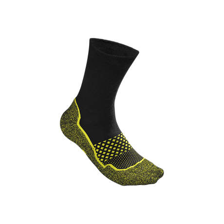Wilson M Amplifeel Sock Black/Yellow