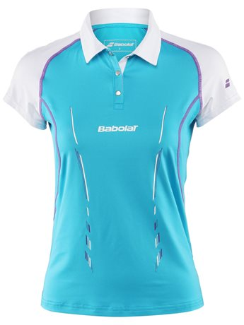 Babolat Polo Girl Match Performance Blue 2014