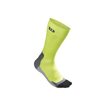 Produkt Wilson Color High End Crew Sock Lime
