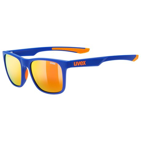 UVEX BRÝLE LGL 42, BLUE ORANGE MAT (4316)