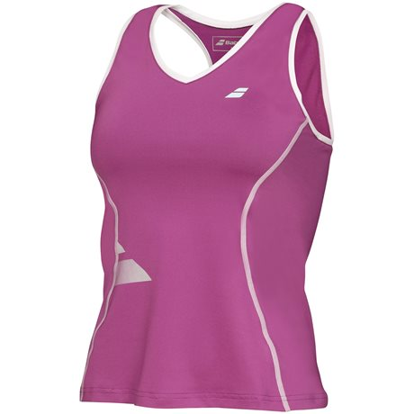 Babolat Crop Tank Top Women Core Plum