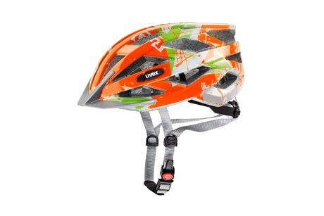 UVEX AIR WING, ORANGE-GREEN-SILVER
