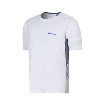 Produkt Babolat Crew Neck Tee Men Performance White 2016