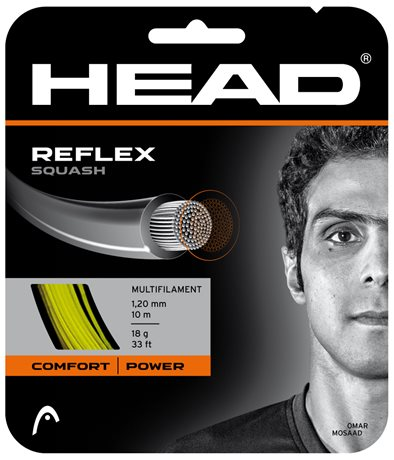 HEAD Reflex Squash 10m 1,30 Yellow