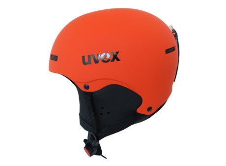 UVEX HLMT 5 JUNIOR dark orange-mat S5661548001