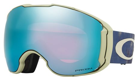 OAKLEY Airbrake XL Mark McMorris Clas Camo Blue w/PRIZM Snow Sapphire Iridium+ PRIZM Snow Rose 18/19