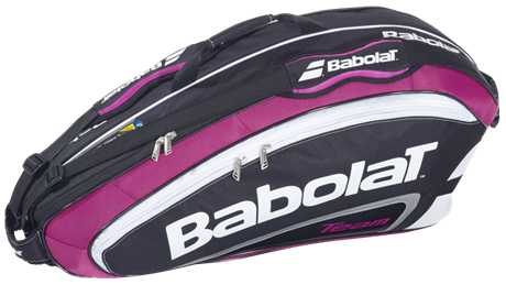 Babolat Team Line Racket Holder Pink X6 2015