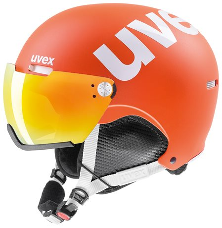 UVEX HLMT 500 VISOR orange mat S566213800 17/18