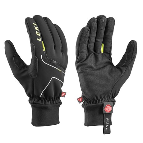 Leki Nordic Thermo black-yellow 63285333