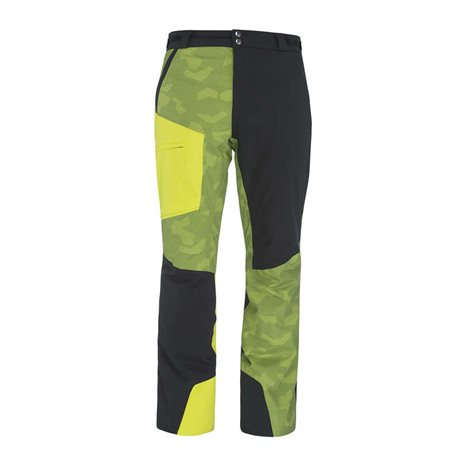 Head Glacier Pants Men Black/Caden Yellow