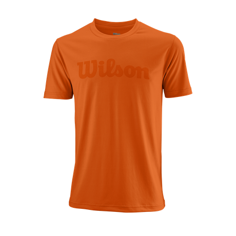 Wilson M UWII Script Tech Tee Orange
