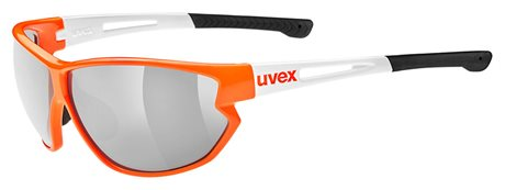 UVEX SPORTSTYLE 810 VM, ORANGE WHITE