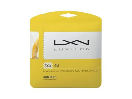 Luxilon 4G 125 Set Go Yellow