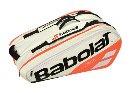 Babolat Pure Strike Racket Holder X12 White/Red 2018