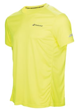 Produkt Babolat Flag Tee Boy Core Club Yellow 2017