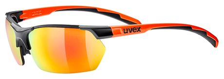 UVEX SGL 114, BLACK MAT ORANGE