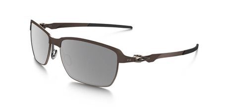 OAKLEY Tinfoil Brushed Chrome w/ Grey Polarized