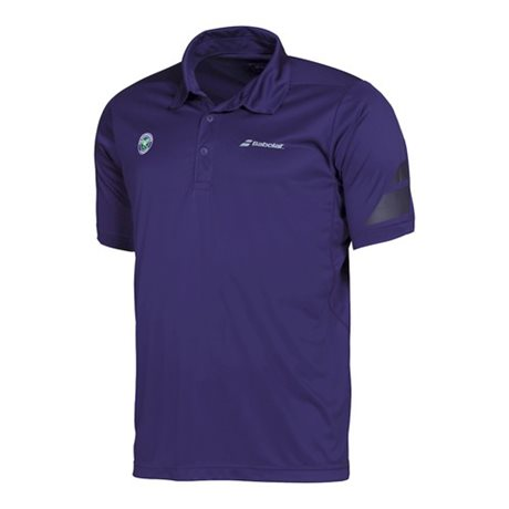Babolat Polo Men Performance Wimbledon Purple 2016