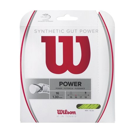 Wilson Synthetic Gut Power 12m 1,30 Lime