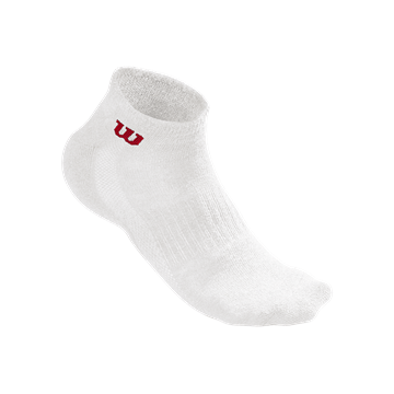 Produkt Wilson M Quarter Sock 3 Pack White