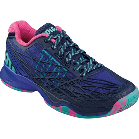 Wilson Kaos Clay Women Blue