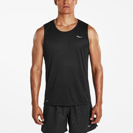 SAUCONY HYDRALITE SLEEVELESS BLACK
