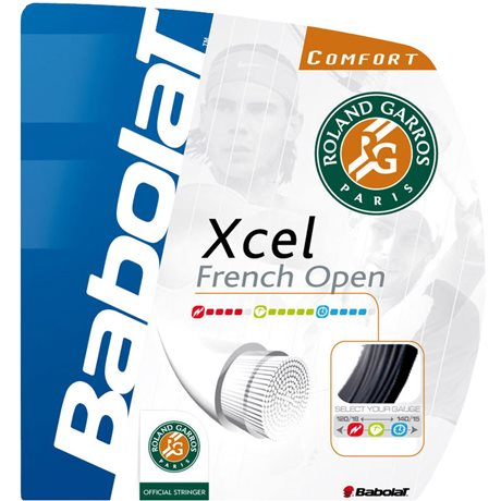 Babolat Xcel French Open Black 12m 1,25