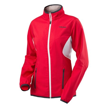 HEAD Club Jacket Women Red