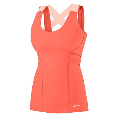 HEAD Vision Tank Women Orange