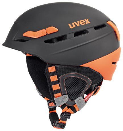 UVEX P.8000 TOUR, black-orange mat S566204280 17/18