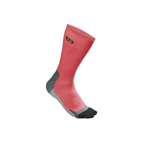 Wilson Color High End Crew Sock Coral