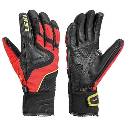 Leki Race Slide S Junior black-red-yellow 636810101 18/19