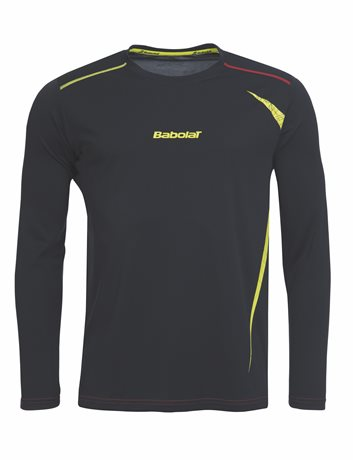Babolat Long Sleeve Men Match Performance Anthracite 2015