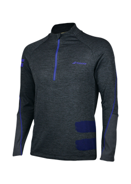 Produkt Babolat Performance Men Sweatshirt 1/2 Zip Grey 2018