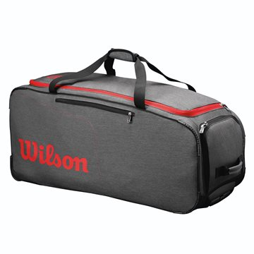 Produkt Wilson Traveler Wheeled Coach Duffel Grey/Red