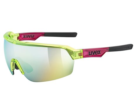 UVEX SPORTSTYLE 227, YELLOW-RED TRANSPARENT (7316) 2021
