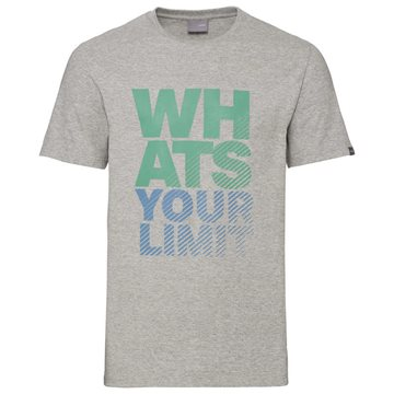 Produkt HEAD Wyl T-Shirt Men Grey Melange